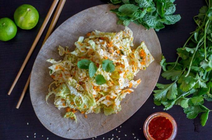 Salade thaï au Thermomix