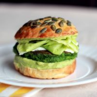 Green burger au Thermomix