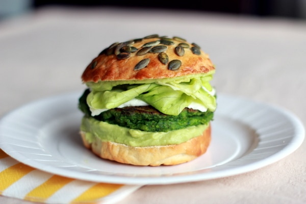 Green burger Thermomix