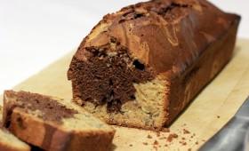 Gâteau marbré du goûter