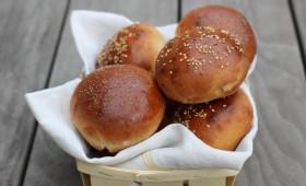 Petits pains à burger briochés façon Blend