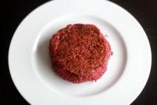 Recette de steak végétarien au Thermomix