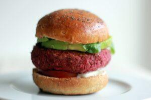 Burger végétarien au Thermomix