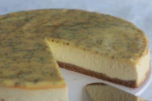 Cheesecake citron pavot au Thermomix