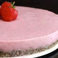 Recette de Cheesecake Fraise au Thermomix