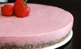 Cheesecake divin & hyper sain {sans gluten voire sans produits laitiers}