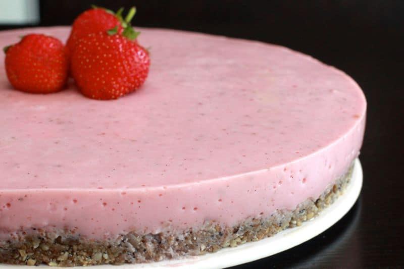 recette de cheesecake au thermomix sans gluten la fraise. Black Bedroom Furniture Sets. Home Design Ideas