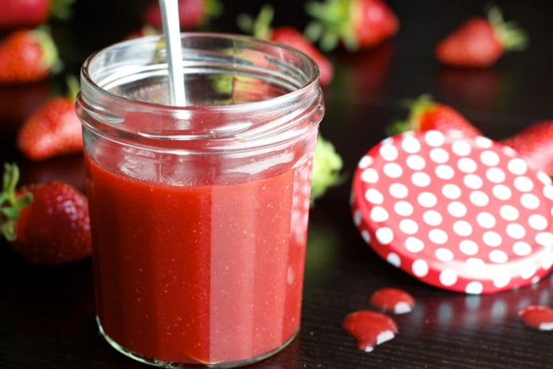 recette de coulis de fraises thermomix. Black Bedroom Furniture Sets. Home Design Ideas