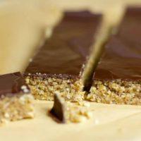 Barres chocolatées aux noix au Thermomix