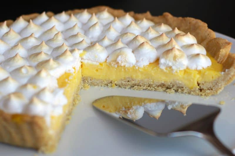 Tarte Au Citron Thermomix