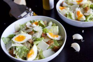 Salade césar au Thermomix