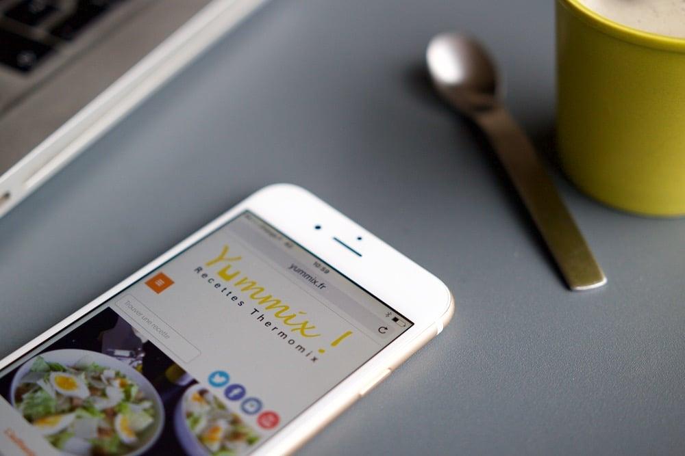 Comment afficher Yummix comme une appli mobile ?