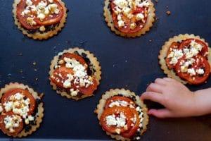 Tartelettes tomate féta au Thermomix