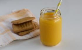 Smoothie mangue, eau de coco & citron vert