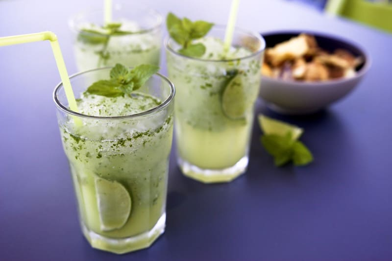 Mojito avec ou sans alcool au thermomix for Cocktail thermomix