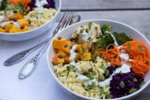 Buddha bowl au Thermomix