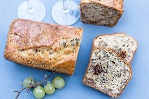 Cake aux morilles et noix au Thermomix
