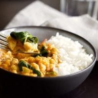 Curry de pois chiches au Thermomix