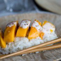 Riz gluant mangue au Thermomix