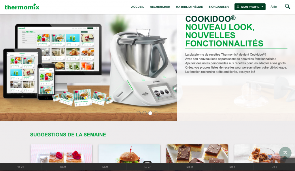 cookidoo yummix vous dit tout sur la plateforme de recettes thermomix. Black Bedroom Furniture Sets. Home Design Ideas