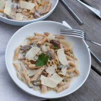 Recette de One pot pasta champignons au Thermomix