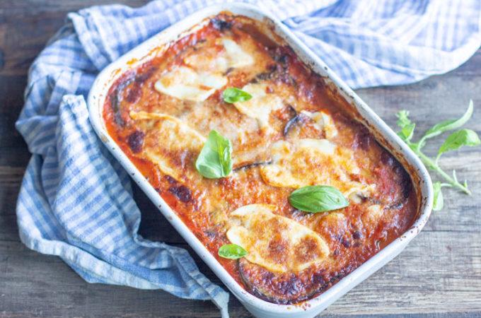 Parmigiana d'aubergines au Thermomix ou gratin d'aubergines au Thermomix