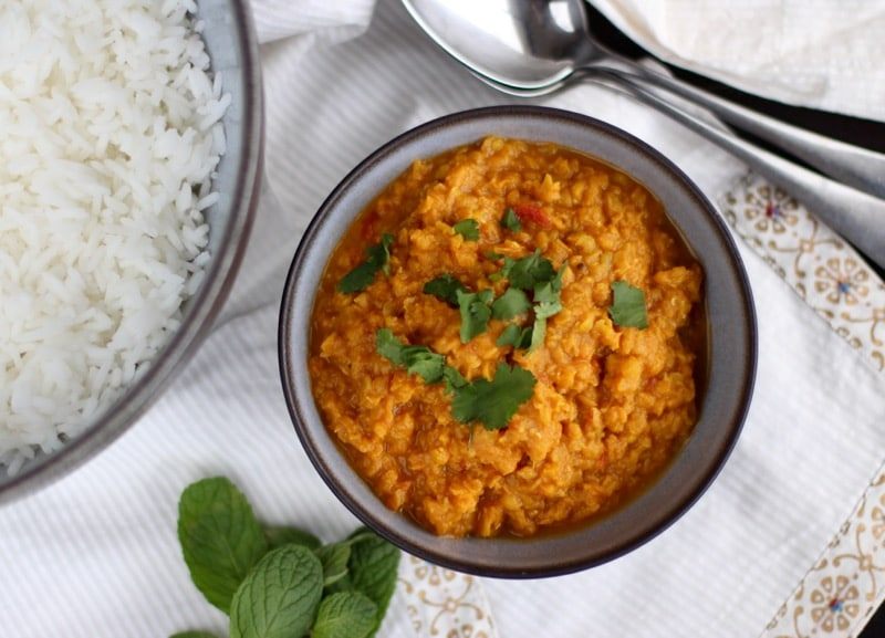 12236c3adfa2c Dhal Thermomix  lentille corail à l indienne  - La recette de Yummix !