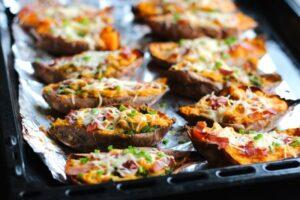 Recettes de patates douces farcies Thermomix