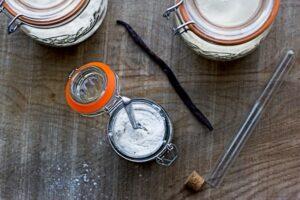 Recette de sucre vanillé au Thermomix