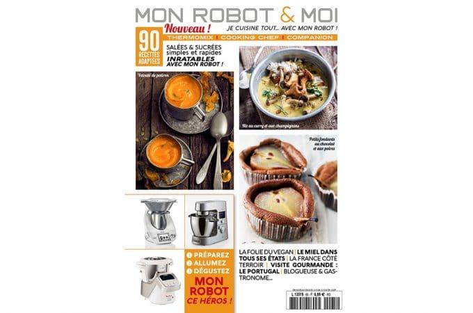 Retrouvez-moi en interview dans le magazine «Mon Robot et Moi» + giveaway !