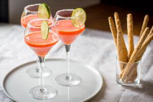 Margarita à la fraise au Thermomix