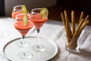 Recette Thermomix de margarita aux fraises