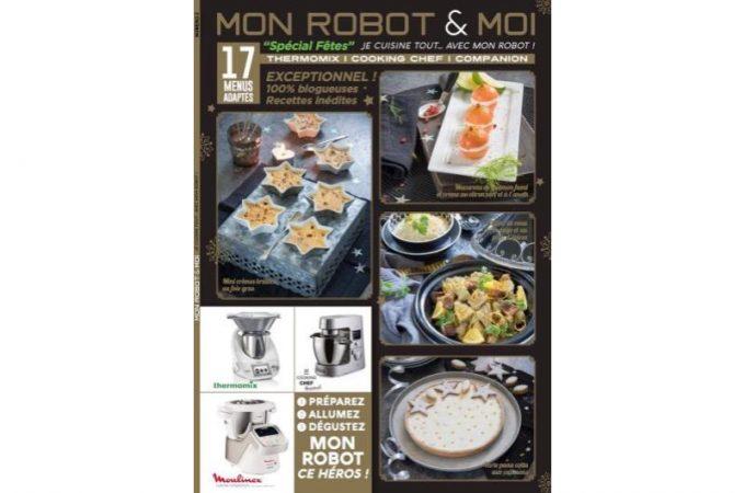 Le numéro Spécial Fêtes de Mon Robot & Moi est sorti !