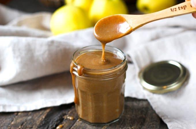 «Caramel» de dattes salé {un délice sans sucre raffiné}