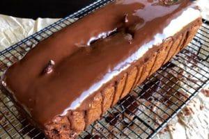 Cake poire chocolat au Thermomix avec glaçage