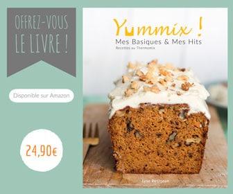 Commandez le livre Thermomix de Yummix sur Amazon