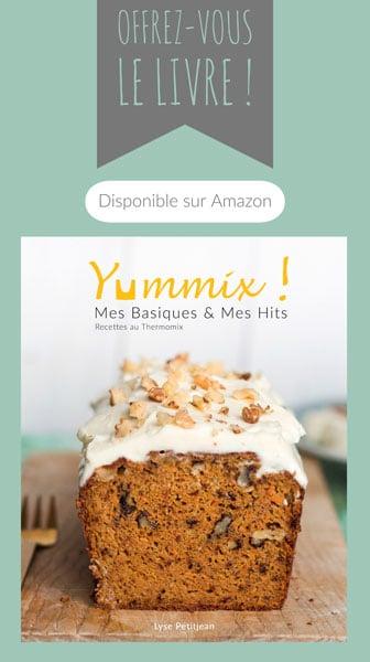 Bannière publicité livre Yummix