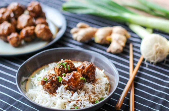 Recette de boulettes de porc sauce teriyaki au Thermomix