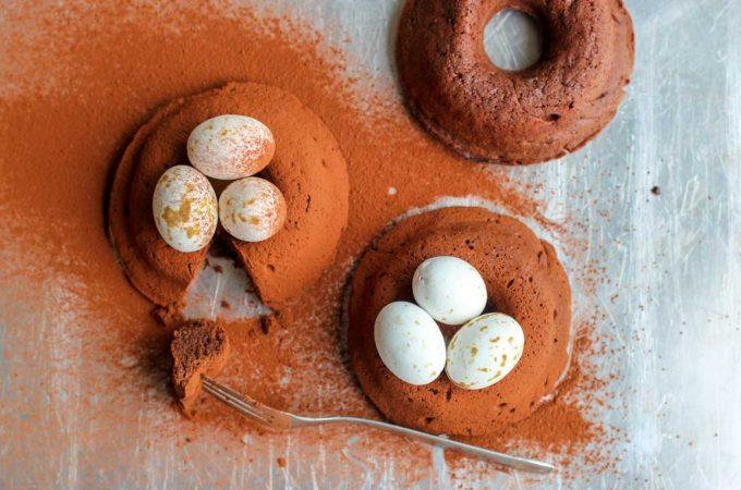 Nids de Pâques chocolatés
