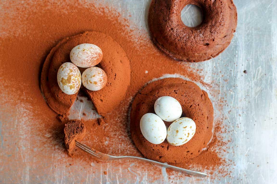 Recette de nids de Pâques chocolatées Thermomix