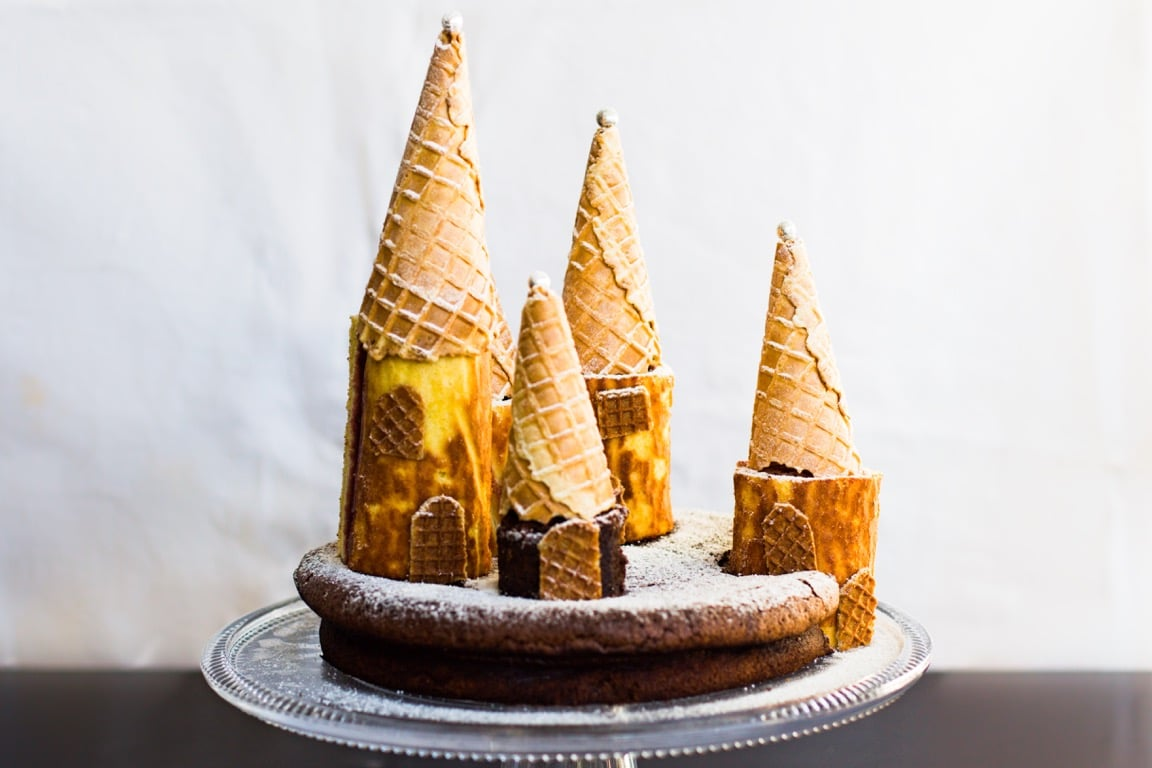Gâteau château de princesse au Thermomix
