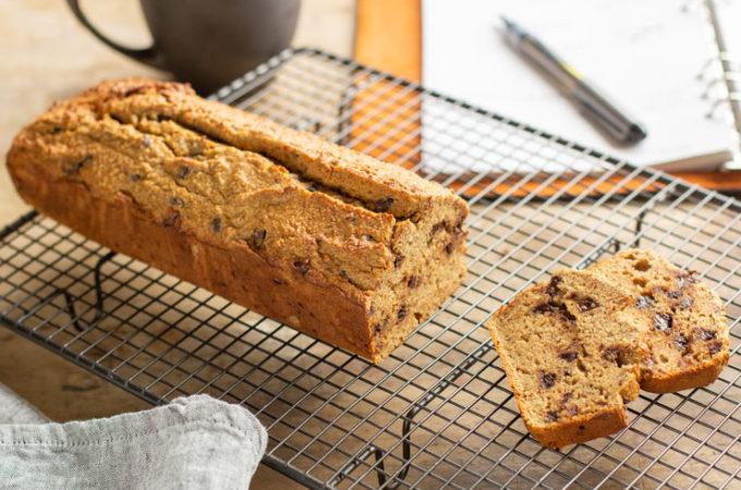 Cake okara aux pépites de chocolat au thermomix