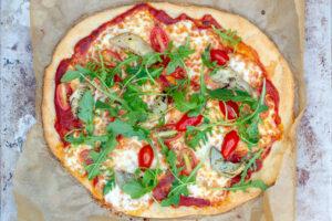 Pâte à pizza sans gluten au Thermomix
