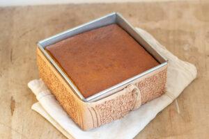 Gâteau plat cuit