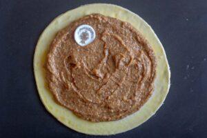 Crème étalée sur la galette des rois au Thermomix