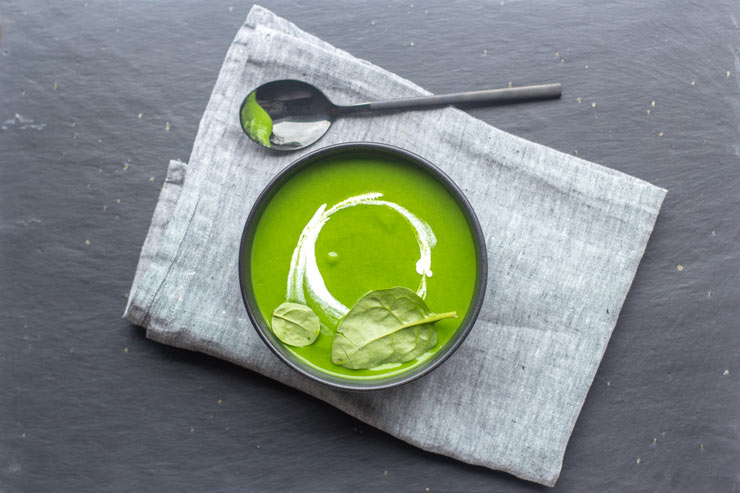 Soupe épinard thermomix