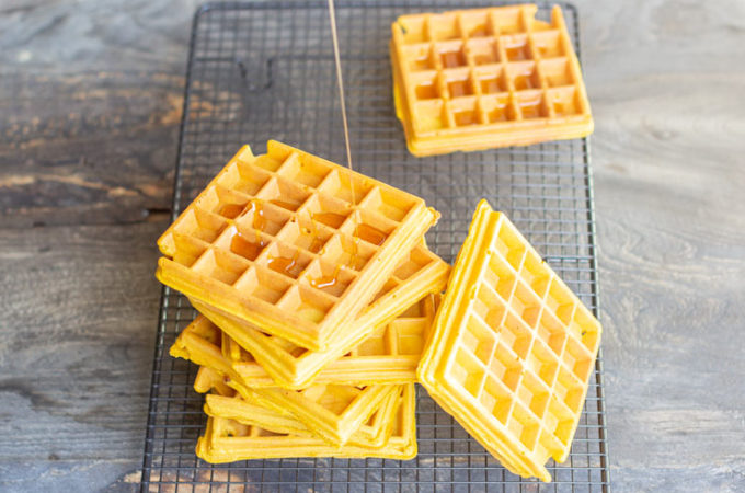 Gaufre vegan thermomix à la patate douce