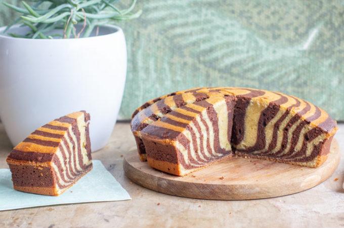 Zebra cake au Thermomix