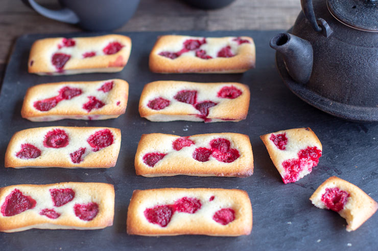 Financiers à la framboise au Thermomix