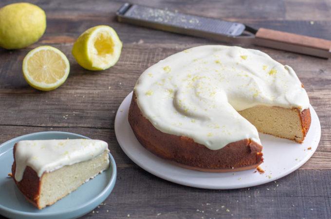 Gâteau au citron sans gluten et sans produits laitiers au Thermomix